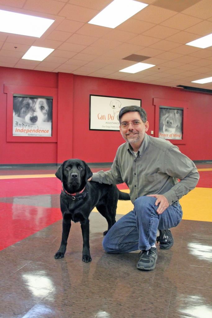 Paul Chavez & Hearing Assist Dog Nina2