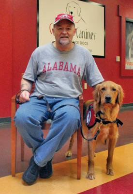 Michael Haugen & Diabetes Assist Dog Charlie (8)-web