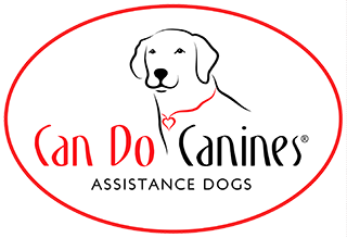 Can Do Canines Assistance Dogs oval logo