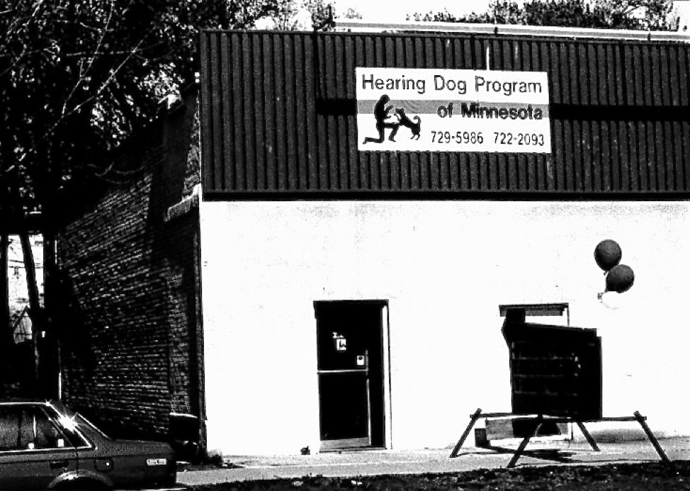 Photo of first building