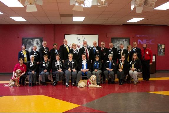 Lions Club Group Photo